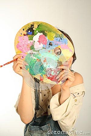 隐藏的油漆