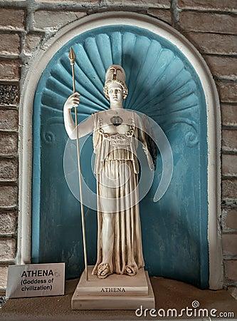 雅典娜古希腊女神