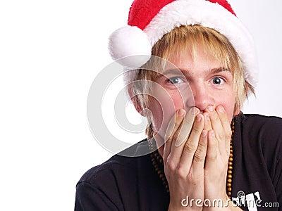 青少年低劣的圣诞老人