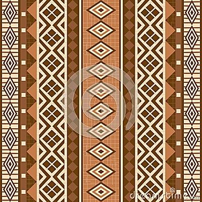 非洲几何装饰模式样式
