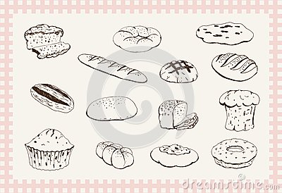 面包店产品