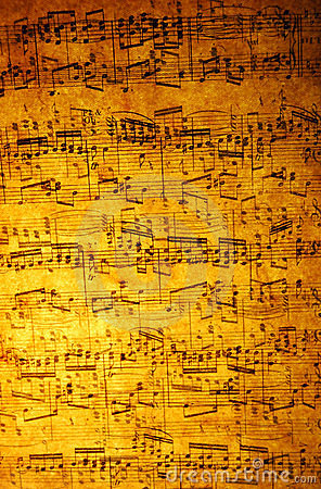 音乐纸张葡萄酒