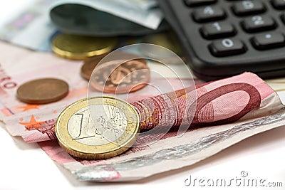 预算值欧元