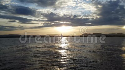 风船在奥斯陆 影视素材