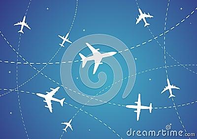 飞机的星形�yb�9�._飞机例证寻址星形向量.