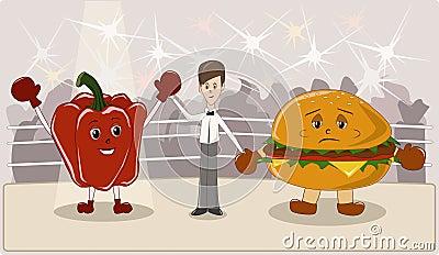 合理的饮食是健康图片