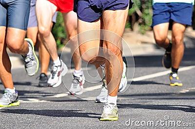 马拉松竟赛者