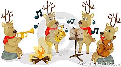 驯鹿音乐会