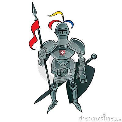 骑士战士图片