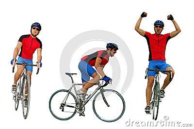 骑自行车的人