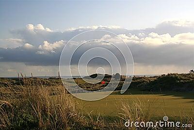 高尔夫球场海洋
