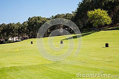 高尔夫球实践