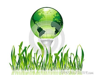 高尔夫球绿色