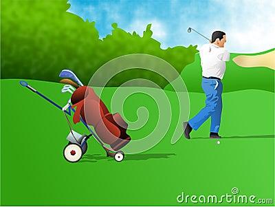 高尔夫球运动员