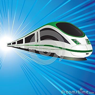 高速火车图片