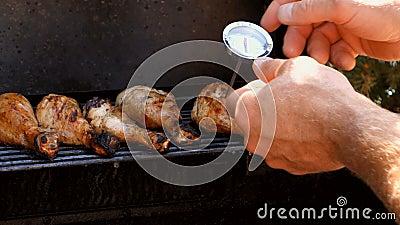 鸡是否是准备好? 影视素材