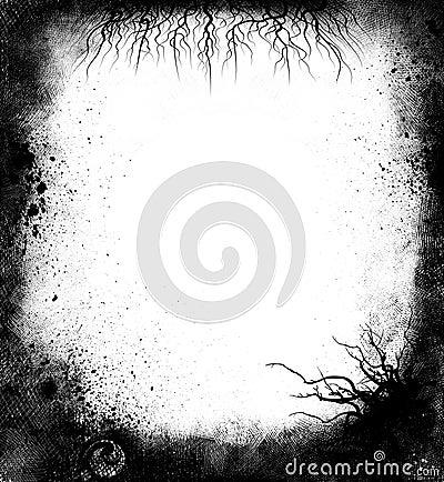 黑色框架grunge