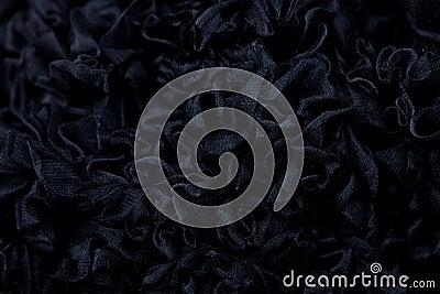 黑色织地不很细背景