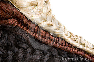 头发纹理图片