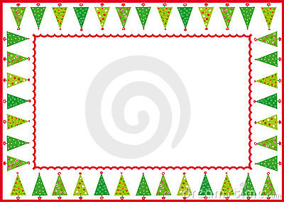 δέντρα πλαισίων Χριστουγέ&