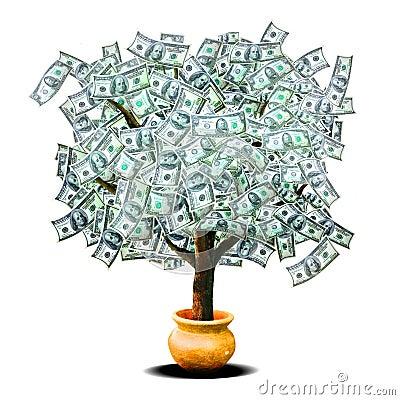 δέντρο χρημάτων