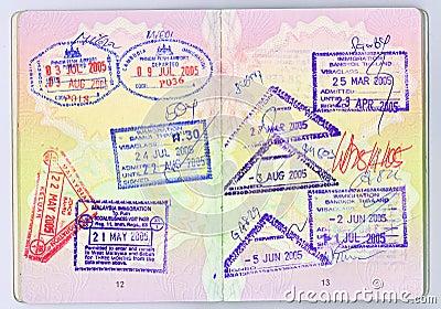 διαβατήριο της Ασίας