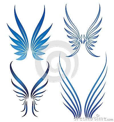 διανυσματικά φτερά