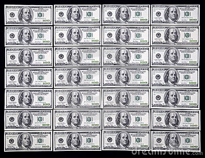 δολάριο εκατό ένα εμείς