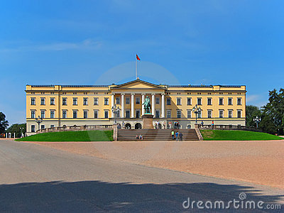 дворец Норвегии Осло королевский