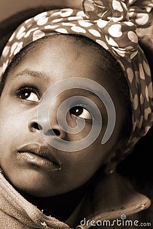 девушка Африки