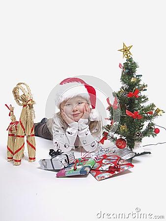 девушка рождества