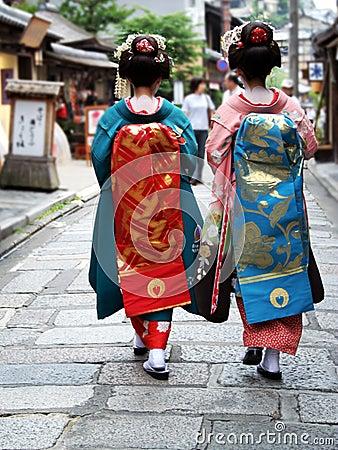 девушки гейши