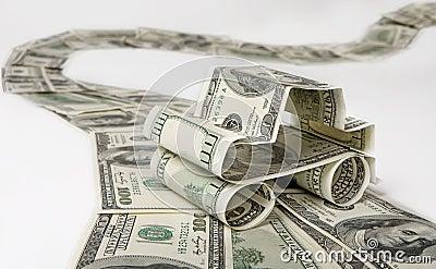 деньги автомобиля