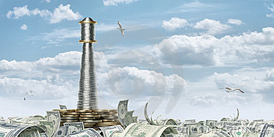 деньги маяка