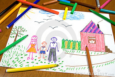 дети рисуя s
