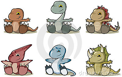 динозавры младенца