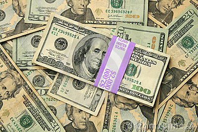 доллар США 20 100 счетов