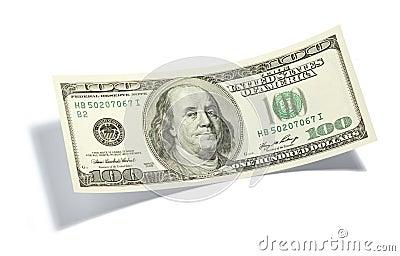 доллар 100 одно счета
