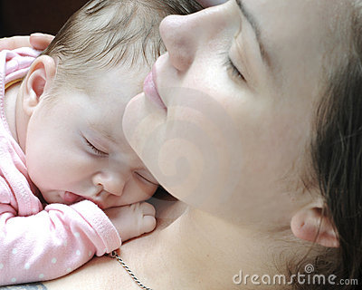 婴孩美好女孩休眠