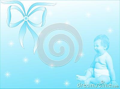 婴孩诞生男