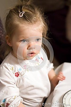 婴孩逗人喜爱的女孩