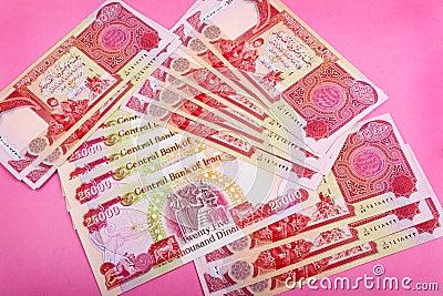 货币粉红色