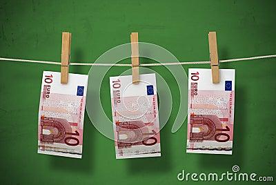 洗涤的货币