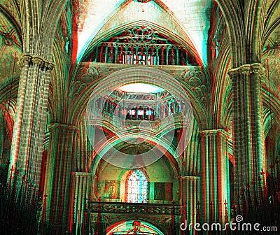 巴塞罗那大教堂 库存图片 图片 16712284