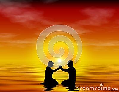 洗礼友谊崇拜