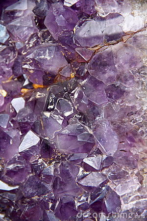 紫色的geode