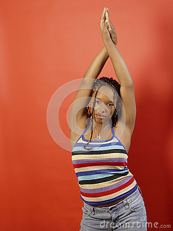 Arms African American Teen 27