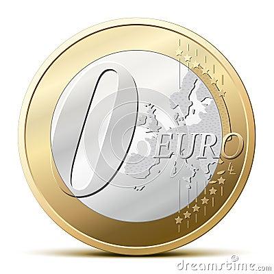 0 Euro coin