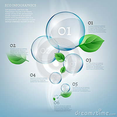 Free 02 Infographics Bio Bubble Stock Image - 57127401