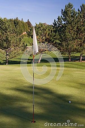 03个标志高尔夫球